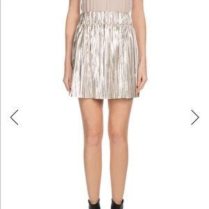 Etoile Isabel Marant Delpha Metallic Skirt